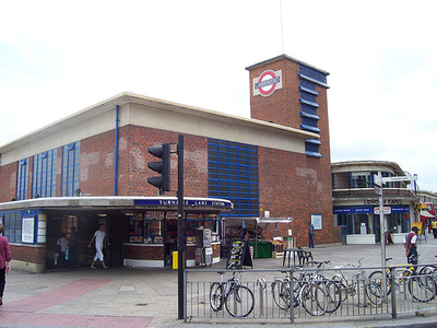 Turnpike Lane station entrance